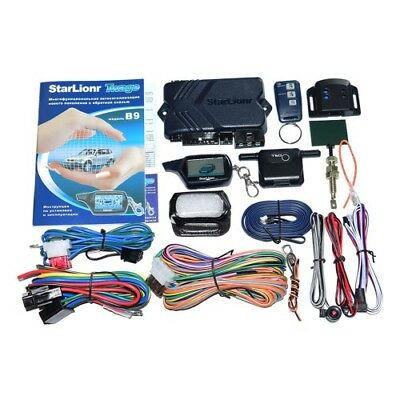 Car Accessories LCD Remote Engine Starter Two Way Alarm System Anti Theft Device