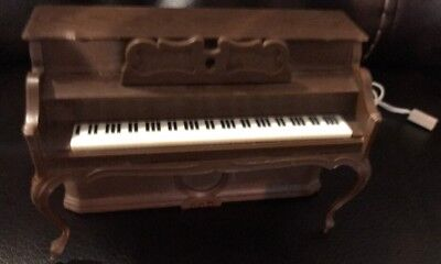 Vintage 1982 Dollhouse Miniature CPG Electric Piano Made In Hong Kong