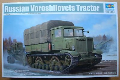 1:35 Russian VOROSHiLOVETS Tractor . TrumPeTeR 01573 , in OVP ;-)