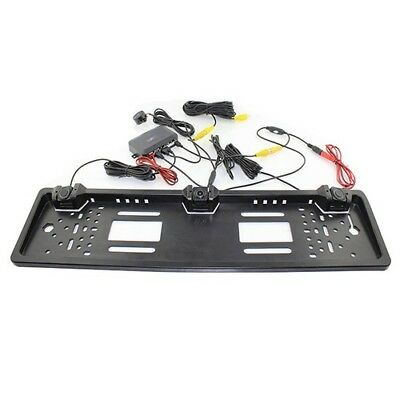 Car Accessories HD Rear View Camera License Plate Parking Sensor 12VDC 1.5W 65db