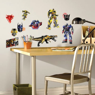 Wall Decals RoomMates Transformers Age of Extinction Peel and Stick Removable