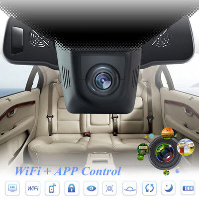 Hidden Car HD 1080P WIFI DVR Vehicle Camera Video Recorder Dash Cam Night Vision