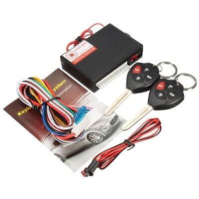Car Accessories Keyless Lock Entry Security Vehicle Burglar Alarm 12V Anti-theft