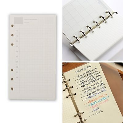 A5 A6 Loose Leaf Notebook Refill Spiral Binder Planner Inner Page Inside Papers