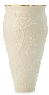 Lenox Ivory Rose Large Vase Makes the Perfect Gift for Occasion Lead Crystal