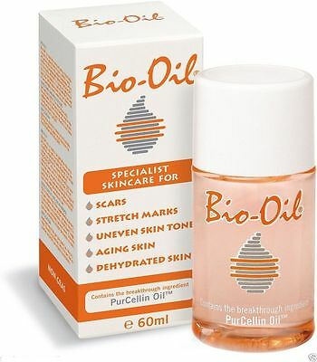 Bio-Oil 2 Oz 60 ml Scar Treatment Stretch Marks Aging Dehydrated 60 ml X 2