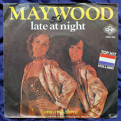 "Maywood - late at night / One,Two,Three - 7"" Single"