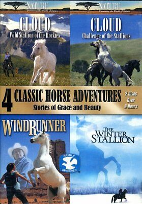 4 Classic Horse Adventures (Cloud: Wild Stallion of the Rockies / Cloud: NEW DVD