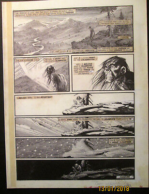 Bernie Wrightson (The Muck Monster) Sign Autograph Artwork Print