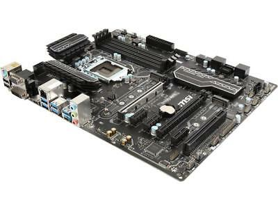 MSI Z270 PC MATE LGA 1151 Intel Z270 HDMI SATA 6Gb/s USB 3.1 ATX Intel Motherboa
