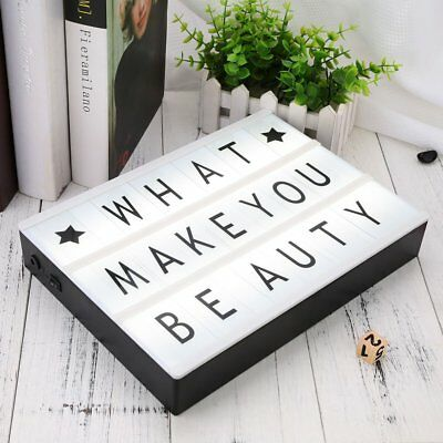 85pcs Replacement A4 Light Box Letters Cards Sign LED Cinematic Board Gift