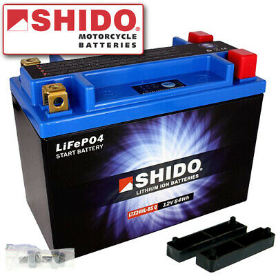 BATTERIE AUTO HAUTE PERFORMANCE SHIDO 30A LITHIUM ION