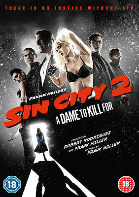 Sin City 2: A dame to kill for dvd***NEW & SEALED***AMAZING SEQUEL TO SIN CITY!!