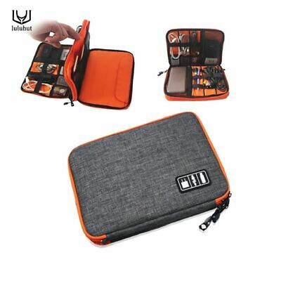 Ipad Organizer Waterproof USB Cable Earphone Pen Travel Storage Bag Kit Case Dig