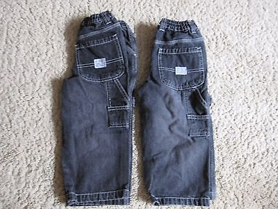 Lot Of 2 Toddler Boys (36 Months) 36M The Children's Place Carpenter Style Jeans