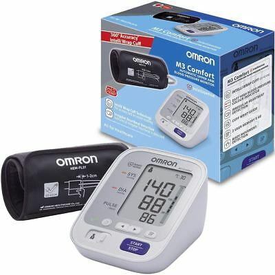 Omron M3 Comfort Upper Arm Blood Pressure Monitor Digital Automatic - HEM-7134-E