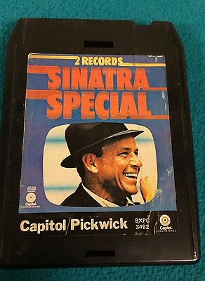 """Vintage """"Sinatra Special"""" ~ A Double Album On One 8 Track Tape"""