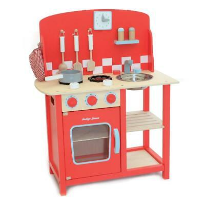 Kinderküche Kitchenette aus Holz by Indigo Jamm