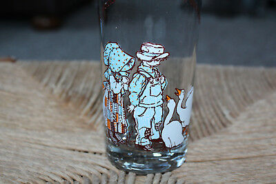 VTG Holly Hobbie Collector Happy Days Glasses Cup 1978