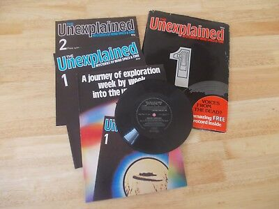 The Unexplained Magazine - 1982 - Issue 1 With Free Issue 2 and Free Record