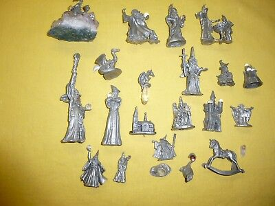 Pewter Figurines, a lot of 20