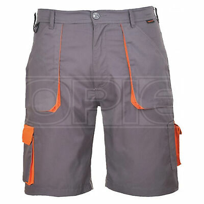 Portwest Texo Contrast Shorts - Charcoal - Small (TX14GRRS)