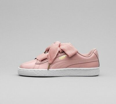 93d9b7a58f2d WOMENS PUMA SUEDE Bow Pink Trainers (TGF15) RRP. £74.99 - £19.99 ...