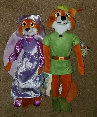 Disney Store Maid Marian And Robin Hood 18'' New with Tag Plush (p3)