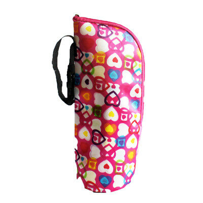 Infant Baby Feeding Milk Bottle Warmer Thermal Insulate Cup Cushion Tote Bag