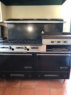GARLAND 6 Burner Gas Range Stove Grill Broiler Conventional Convection Oven