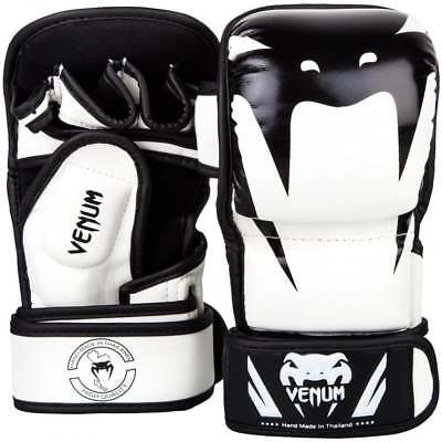 Venum Venum Impact MMA Sparring Gloves - White Black