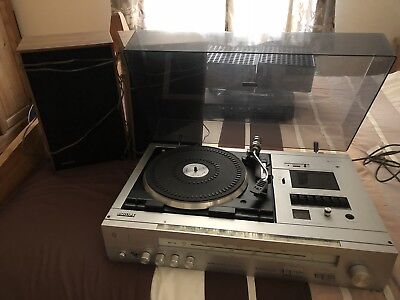 VINTAGE  PHILLIPS AH 979 MUSIC CENTRE 1970s Record player