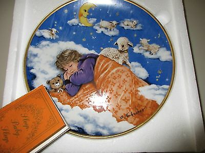 "1985 Kaiser Porcelain ""Sleep, Baby, Sleep"" Collector Plate, G. Neubacher, E-2374"