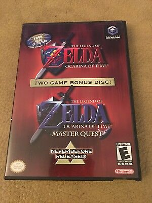 Legend of Zelda: Ocarina of Time Master Quest Nintendo Gamecube COMPLETE, TESTED