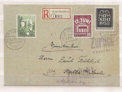 Deutschland ( Germany )  -   Old Cover With Great Stamps