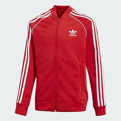 Giacca con zip Adidas TRACK JACKET Tg: 8-9 anni CF8557