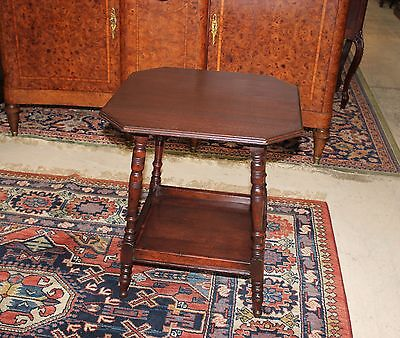 Beautiful English Antique Mahogany Side Table.
