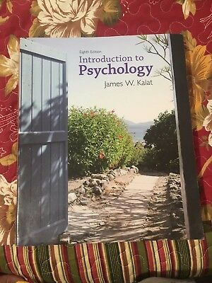 Introduction to Psychology by James W. Kalat (2007, paperback)
