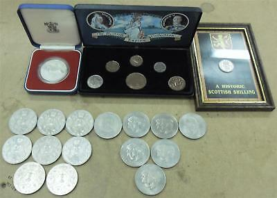 Job Lot of Assorted British Coins (23 Coins)