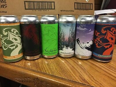 Treehouse Brewing 6 Pack All Extremely Rare Brews