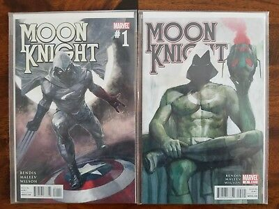 Moon Knight (2011 4th Series) Issues #1 and #2  NM  Brian Michael Bendis