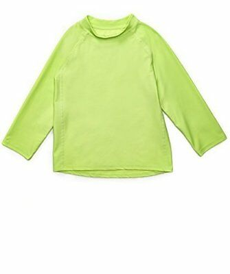 Leveret Green Long Sleeve Rash Guard Sun Protected UPF + 50 (12M-5T)