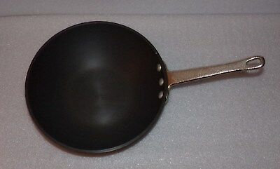 "Calphalon Commercial Aluminum 8.5"" Flat Bottom Wok Stir Fry Hard Anodized"