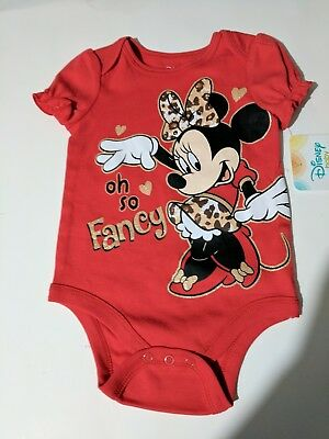 f07e26393 BABY GIRL Minnie mouse piece pajamas body suit size 12 months NWT ...