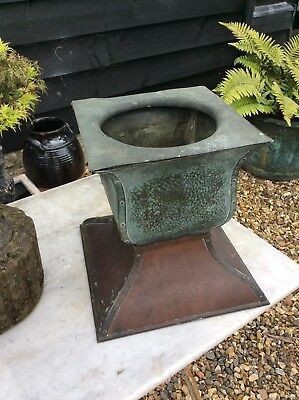 Arts And Crafts Copper Planter Art Nouveau Beautiful