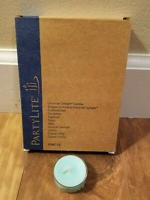 Partylite -12 Tealights - Tropical Waters - New in Box