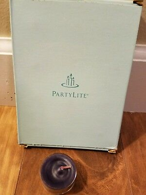 Partylite - 12 Tealights - Black Orchid - New in Box