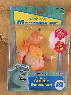 Disney Pixar Monsters Inc. Top Scarer George Sanderson Action Figure, BNIB