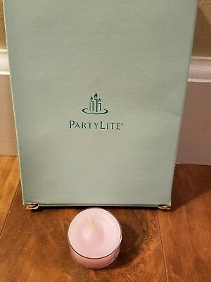 Partylite - 12 Tealights - Strawberry Rhubarb - New in Box
