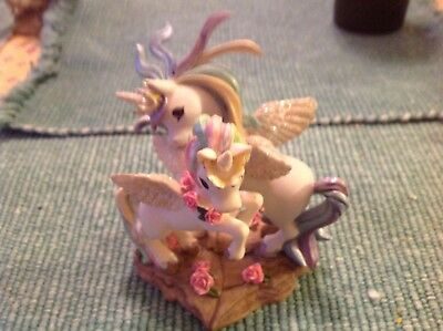 """The Hamilton Collection """"From this day"""" no. 0357 unicorn figurines."""